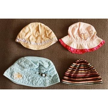 kapelusiki na lato czapki dla dziewczynki 1-6 lat