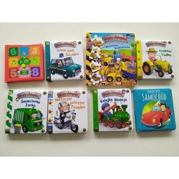Książki dla chłopca, zestaw Mały chłopiec Gucio