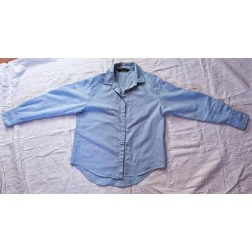 Koszula damska błękitna Zara r. M