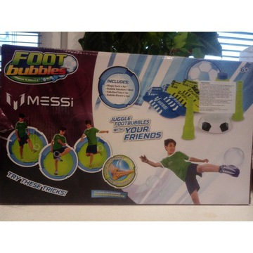 Foot bubbles Messi bańki mydlane i skarpety