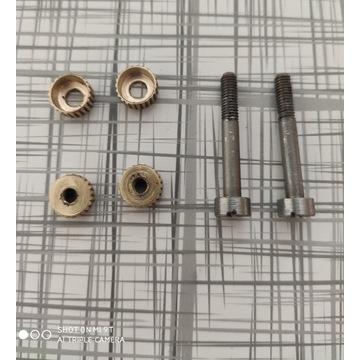 Śruby okładzin do rewolweru  remington
