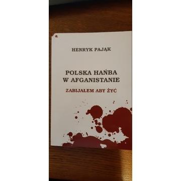 Książka Polska hańba w Afganistanie