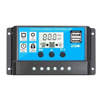 Solarny regulator ładowania akumulatorów PWM 30A