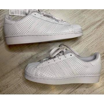 Superstar adidas białe klasyczne lato 36 2/3