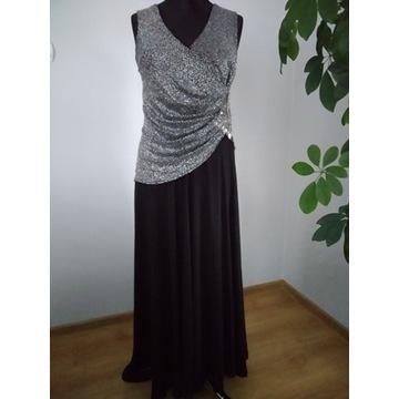 Piękna wieczorowa suknia ULMIT - rozm. 4 6