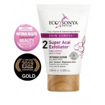Eco by Sonya * peeling do twarzy * Acai * 100 ml.
