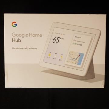 Google Home Hub - nieużywany, nierozpakowany