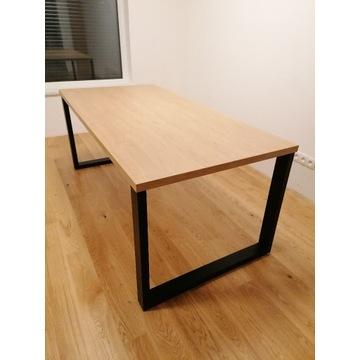 Stół w stylu loftowym nogi metalowe 180/90