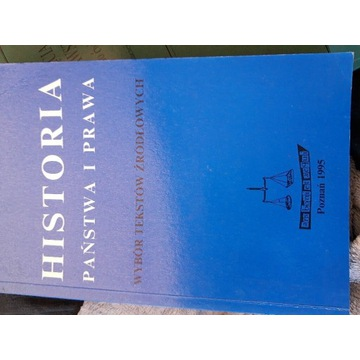Historia państwa i prawa 1995