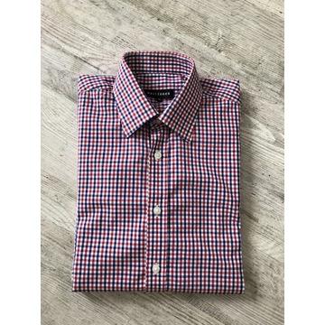 Męska koszula Wólczanka 39 slim NOWA w kratkę