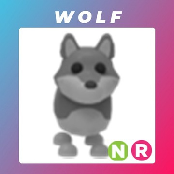 Roblox Adopt Me Neon Wolf R