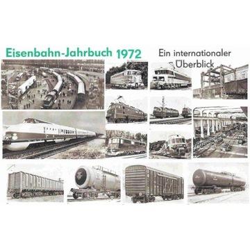 KOLEJE -- EISENBAHN-JAHRBUCH -- 1972 -- BERLIN