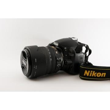 NIKON D3100 + 18 -105 JAK NOWY zestaw + torba