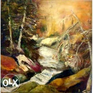 ''Jesienne szepty'' obraz olejny 80/80