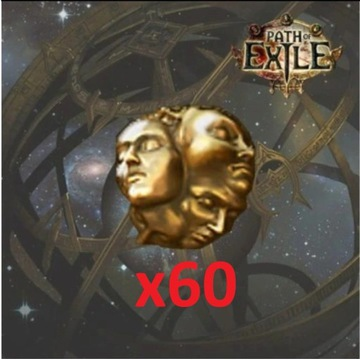 Exalted Orb x 60 - PoE -Path of Exile - HEIST - SC