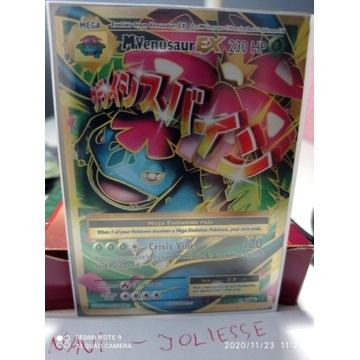 Pokemon MVenusaur EX Full  M/NM 100/108 Evolutions