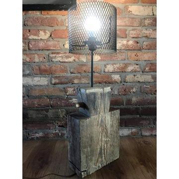 Lampa Retro LOFT Wood