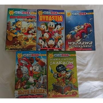 Mega Giga zestaw komiksow