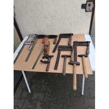 Sciski stolarskie i narzędzia