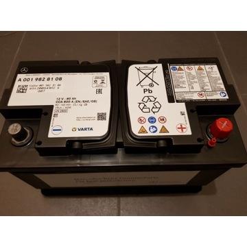 Nowy Akumulator MERCEDES 80Ah 800A AGM Oryginalny!
