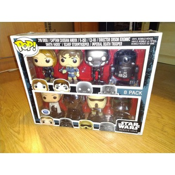 Funko Pop Star Wars Rogue One 8 Pack