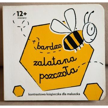 Kontrastowa książeczka Bardzo zalatana pszczoła