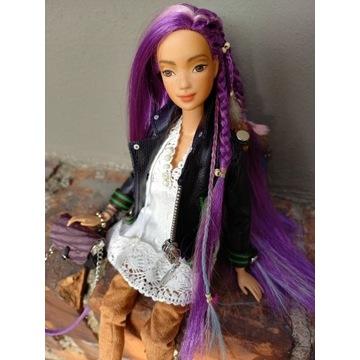 Lalka Barbie ooak ubranka buty torebka handmade