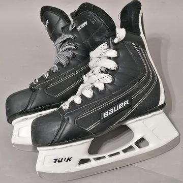 BAUER łyżwy hokeje, rozmiar 32 wkładka 20,5 cm.