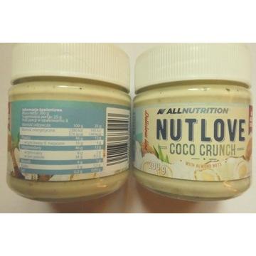 Nutlove Coco Crunch krem migdałowo-kokosowy 200 g
