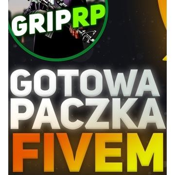 Gotowa paczka na serwer FiveM Roleplay, GTA RP