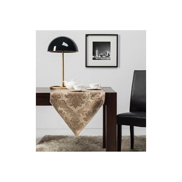 IZA Piękny bieżnik serweta obrus 50x150 kawa