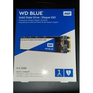 DYSK SSD WD BLUE 1000GB M2 2280 SATA 3D NAND