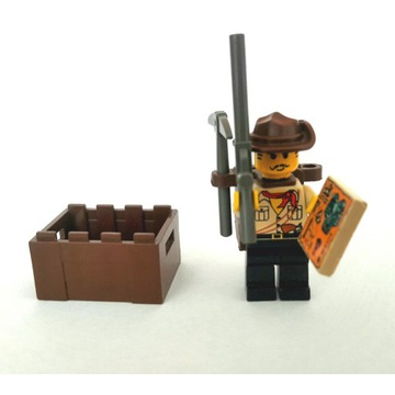 Johnny Thunder Lego Adventurers johny thunder BCM