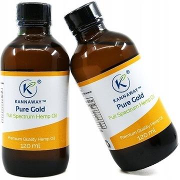 Olej z Konopi Kannaway 120 ml Oryginalny z plombą