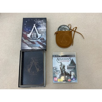 ASSASSIN'S CREED 3 III PS3 EDYCJA JOIN OR DIE