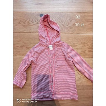 Bluza, sweterek H&M 92, zapinany