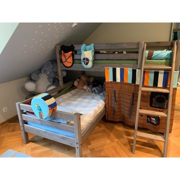 Łóżko piętrowe firmy Flexa