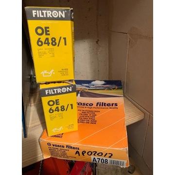 Zestaw filtr powietrza oleju OPEL SAAB DTR DTL DTH