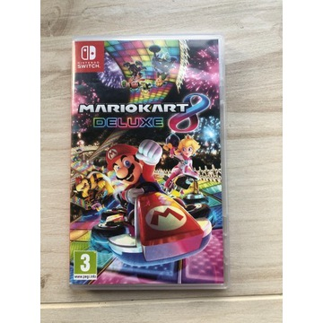2 dwie gry Mario Kart 8 deluxe, escape game