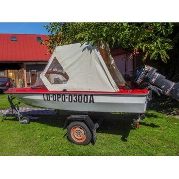 Łódka wędkarska Cameo, silnik Mercury 25 KM