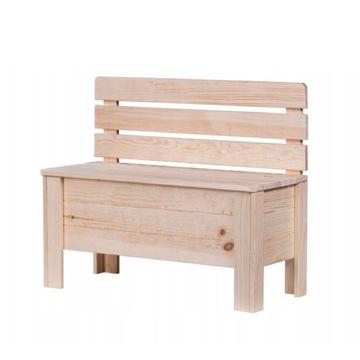 Ławka drewniana / kufer