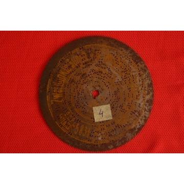 Płyta do polifonu 14,5cm Nr.4