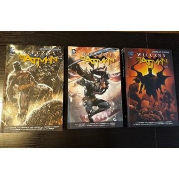 Wieczny Batman Tom 1, Tom 2, Tom 3. Komplet.