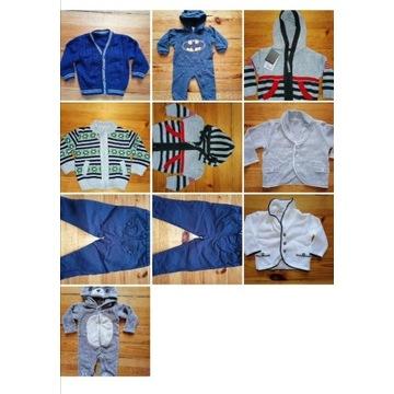 Ubranka dla chłopca 74-86