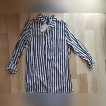 Koszula w paski h&m XS/s nowa z metką