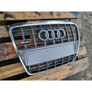 Grill Audi S6 C6 * 4F0 oryginał idealny stan!Kompl