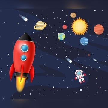 Fototapeta kosmos dla chłopca 320cm /270cm