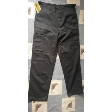 Spodnie BDU M65 czarne roz. M