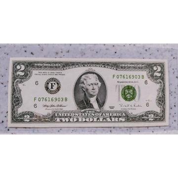 2  Dolary USA 1995r   F