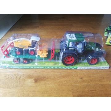 Ciągnik traktor kombajn naczepa